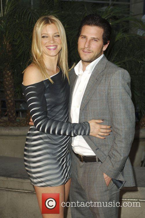 Branden Williams and Amy Smart