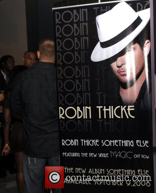 After party for Robin Thickes official 'Love Soul'...