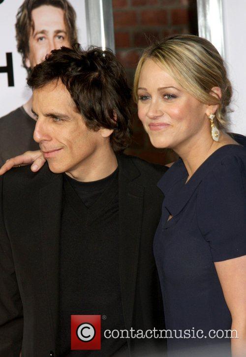 Christina Taylor and Ben Stiller  attends the...