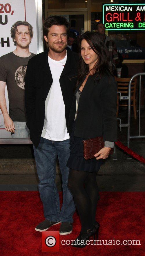 Jason Bateman and his wife Amanda Anka attends...