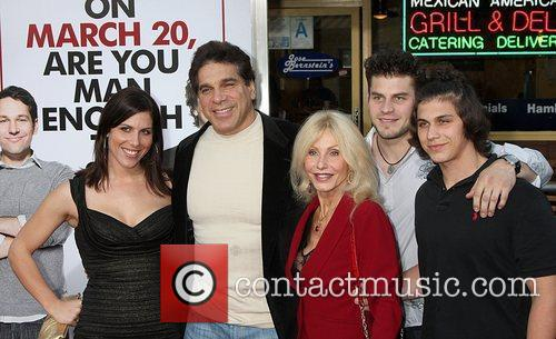 Lou Ferrigno and family attends the Los Angeles...