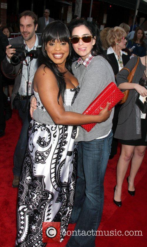 Niecy Nash and Sarah Silverman attends the Los...