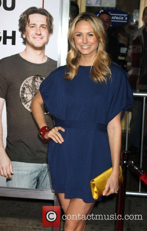 Stacey Keibler  attends the Los Angeles Premiere...