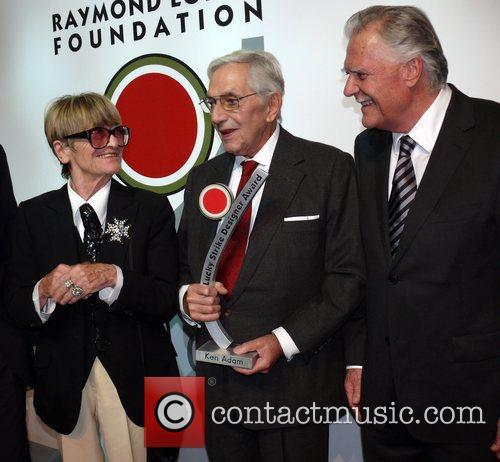 Ken Adam, wife Letizia Adam, Michael Ballhaus Lucky...