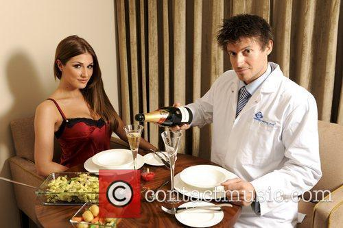 Lucy Pinder and EST's energy love Doctor Rob...