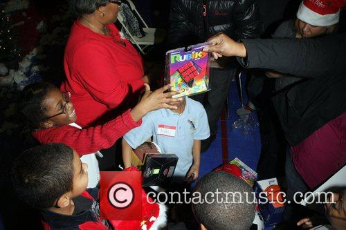 Guests The Ludacris Foundation's Holiday Party co-sponsored by...