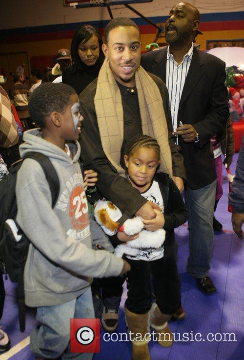 The Ludacris Foundation's Holiday Party co-sponsored by Alize...