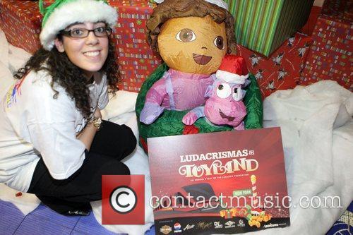 Tara Plain The Ludacris Foundation's Holiday Party co-sponsored...