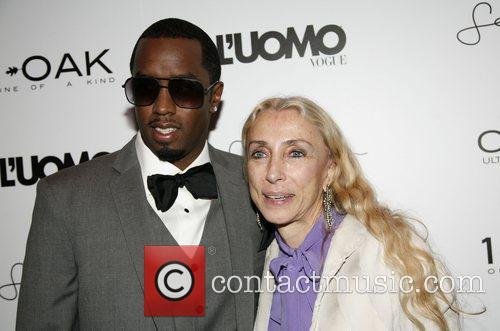Sean 'Diddy' Combs' and Franca Sozzani 'L'Uomo Vogue'...