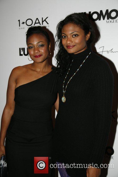 Tatyana Ali and Guest 'L'Uomo Vogue' celebrates Sean...