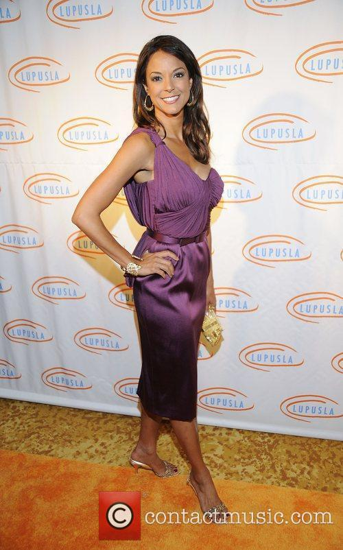 Eva LaRue 9th annual Lupus LA Orange Ball...