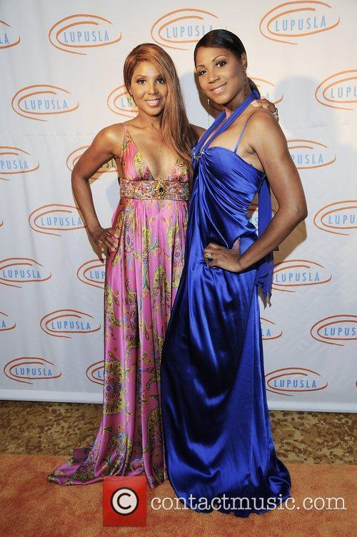 Toni Braxton and Trina Braxton 9th annual Lupus...