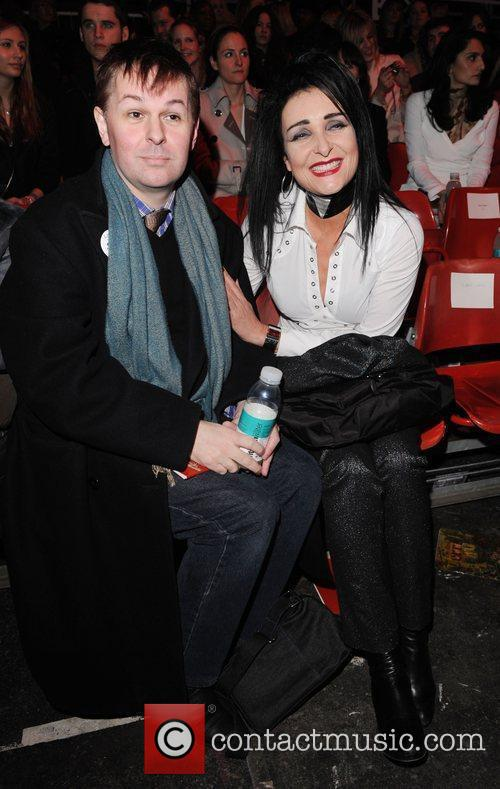 Siouxie Sioux and Guest London Fashion Week Autumn/Winter...