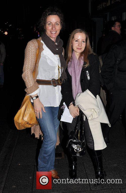 Carrie Crowley, Kathy Fullam World premiere of 'Macbecks'...