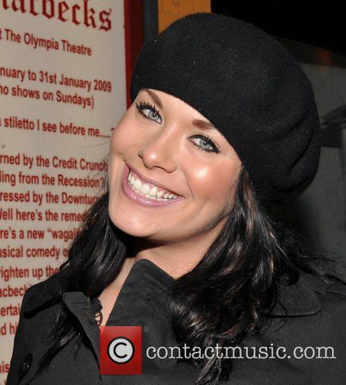 Michele McGrath World premiere of 'Macbecks' at the...