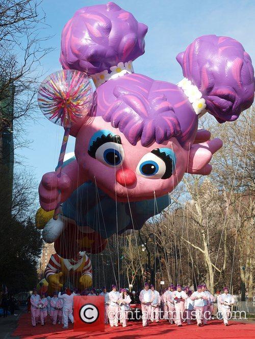 Abby Cadabby Balloon at the Macy's Thanksgiving Parade...