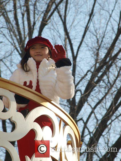 Charice at the Macy's Thanksgiving Parade New York...
