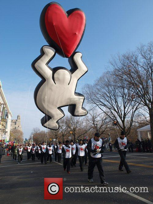 Keith Haring Heart Balloon 5