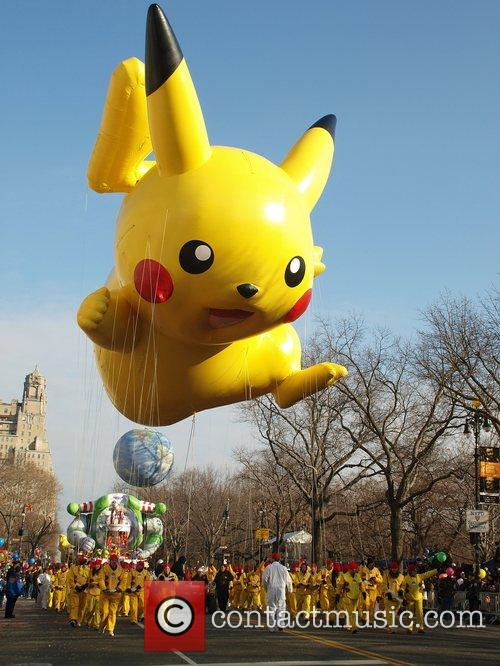 At the Macy's Thanksgiving Parade