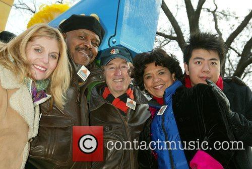 Bob McGrath and the cast of Sesame Street...