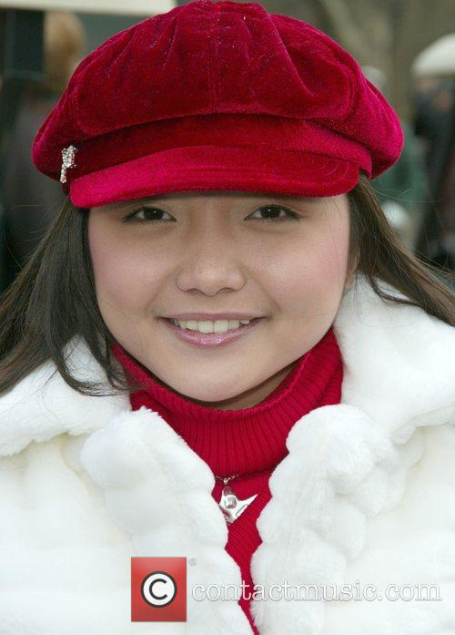 Charise Pempengco at the Macy's Thanksgiving Parade New...