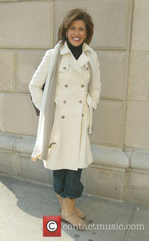 Hoda Kotb at the Macy's Thanksgiving Parade New...