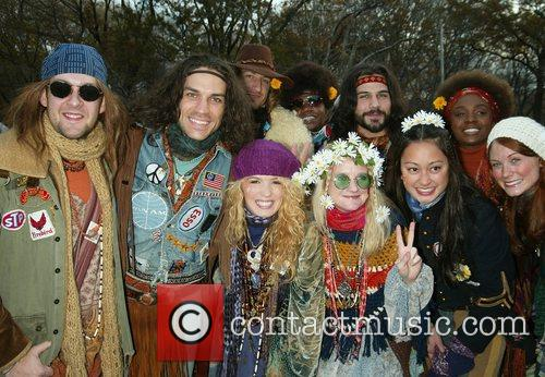 Will Swenson and the Broadway Cast of 'Hair'...