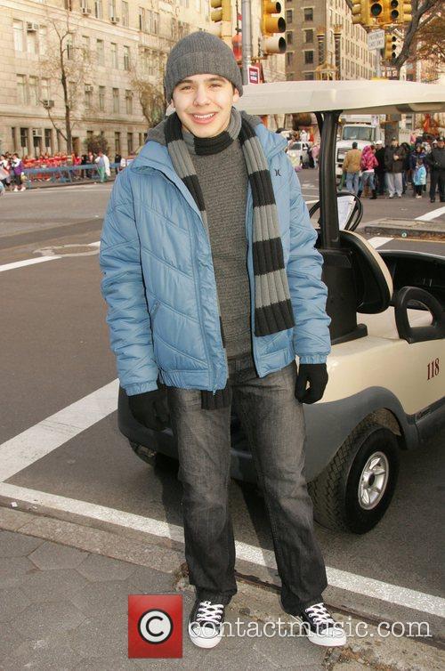 David Archuleta at the Macy's Thanksgiving Parade New...