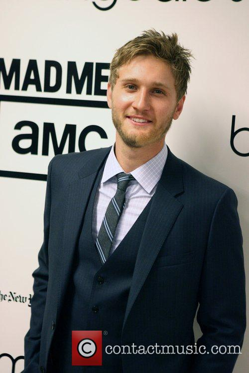Aaron Staton Bloomingdale's celebrates the re-opening of the...