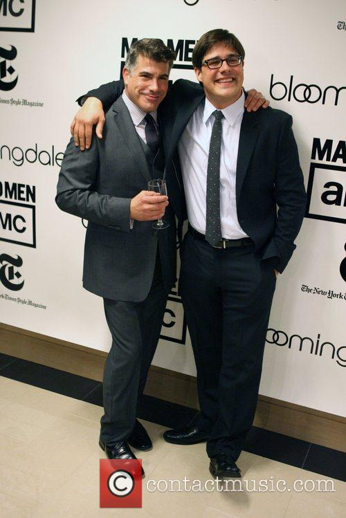 Bryan Batt and Rich Sommer Bloomingdale's celebrates the...