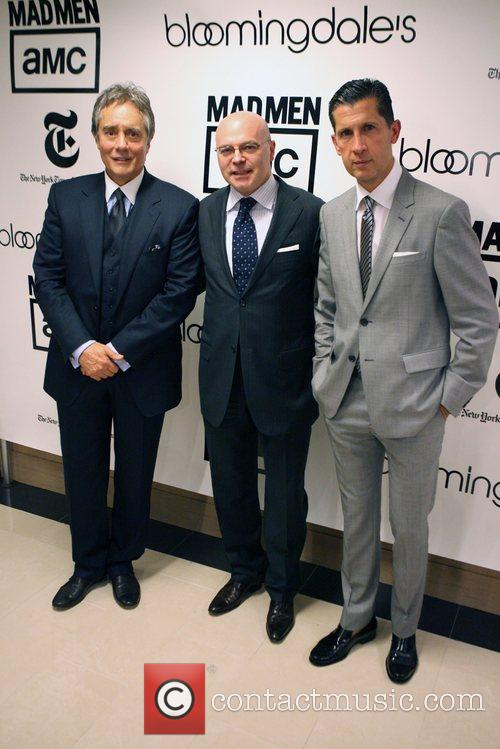 David Fisher, Giorgio Canali and Stefano Tonchi Bloomingdale's...