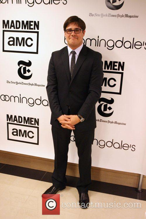 Rich Sommer Bloomingdale's celebrates the re-opening of the...