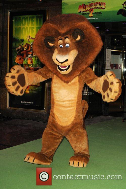 The Lion Madagascar 2: Escape to Africa film...