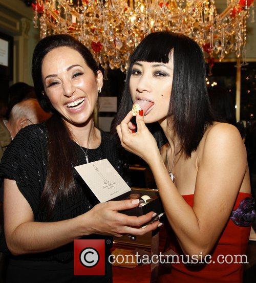 Hasty Torres, Bai Ling Madam Chocolat host the...