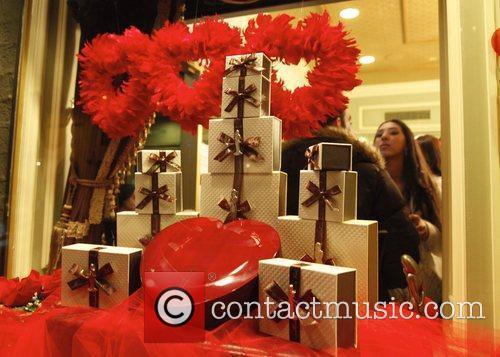 Madam Chocolat host the Valentine mixer at their...