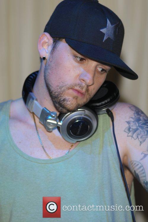 Joel Madden of Good Charlotte DJ's at Karu&Y