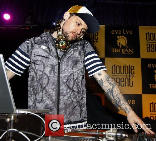 Jeol Madden play a DJ set at the...