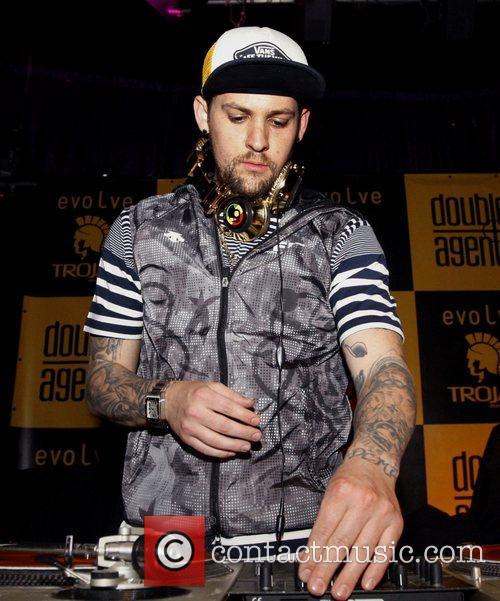 Joel Madden plays a DJ set at the...