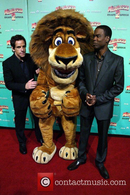 Australian premiere of 'Madagascar - Escape 2 Africa'...