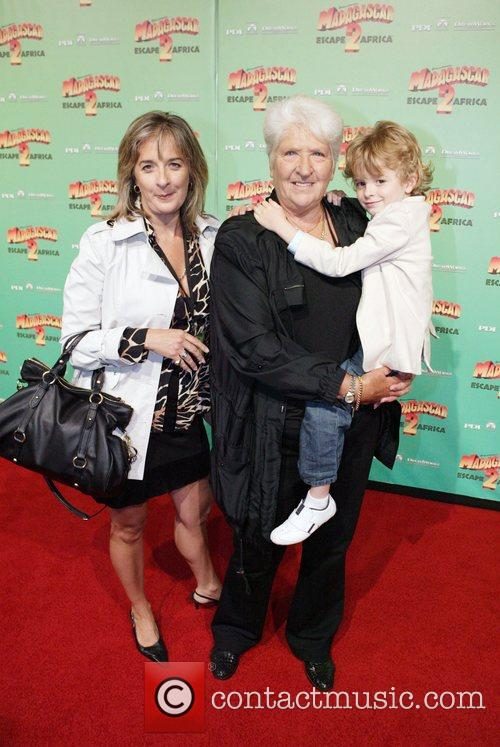 Dawn Fraser with her daughter Dawn-Lorraine and grandson...