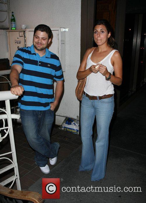 Jamie-Lynn Sigler outside Madeo restaurant  Los Angeles,...
