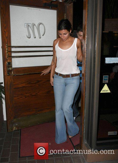 Jamie-Lynn Sigler leaving Madeo restaurant  Los Angeles,...