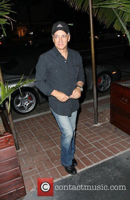 Mark Kaplan arriving at Madeo restaurant  Los...
