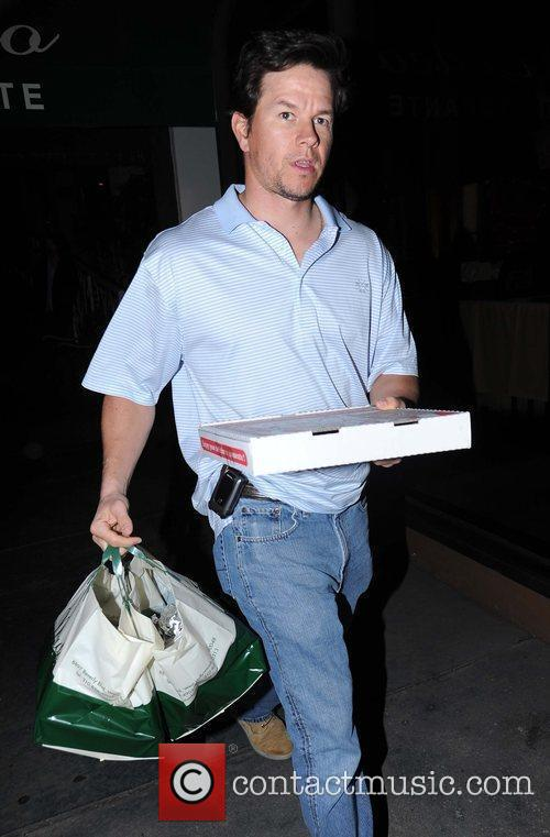 Mark Wahlberg outside Madeo's Restaurant Los Angeles, California