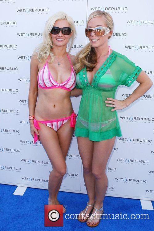 Holly Madison and Kendra Wilkinson Memorial Day weekend...