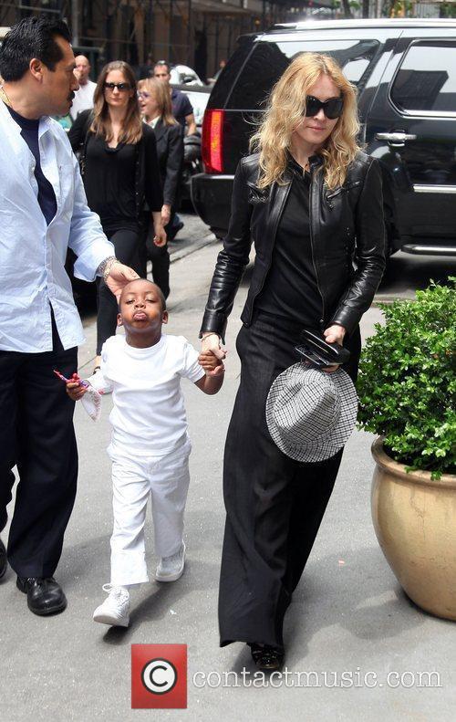 Madonna and Son David Banda 4