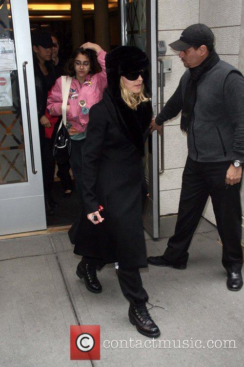 Lourdes Leon and Madonna seen leaving the Kabbalah...