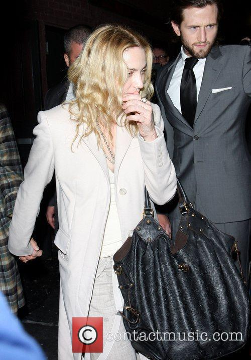 Madonna leaving the Waverly Inn after having dinner...