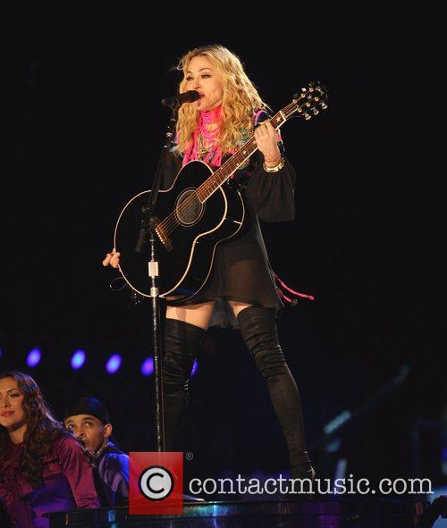 Performs at the Dodgers Stadium