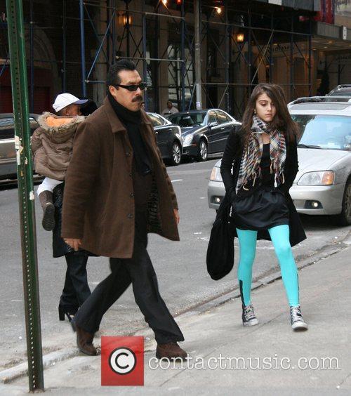 Madonna, David Banda and Lourdes Maria Ciccone Leon...